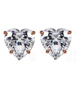 Broqueles mod. Rosa-diamante
